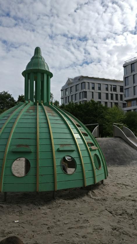 the tower playground a fælledparken